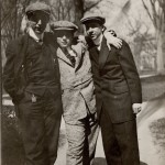 Wyner Album, Three Men Standing