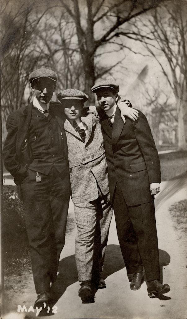 Wyner Album, Three Men Standing