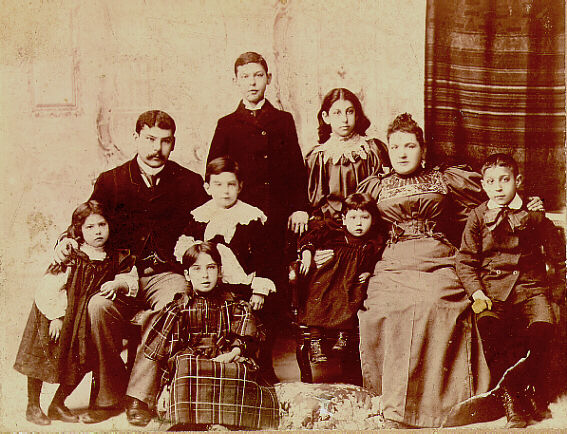 Wyner Family Portrait, Malmesbury, South Africa, 1894